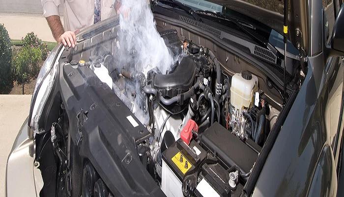 داغ شدن باتری ماشین